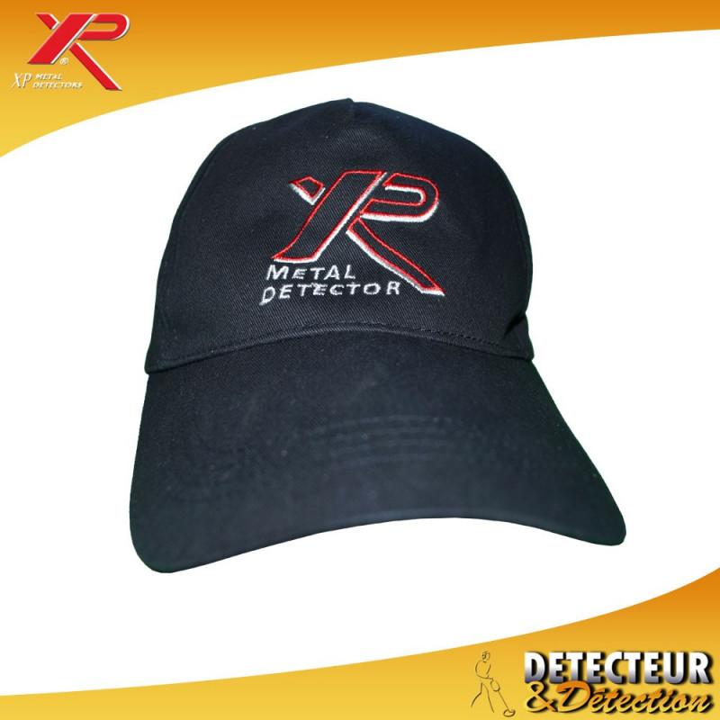 Casquette XP metal detector