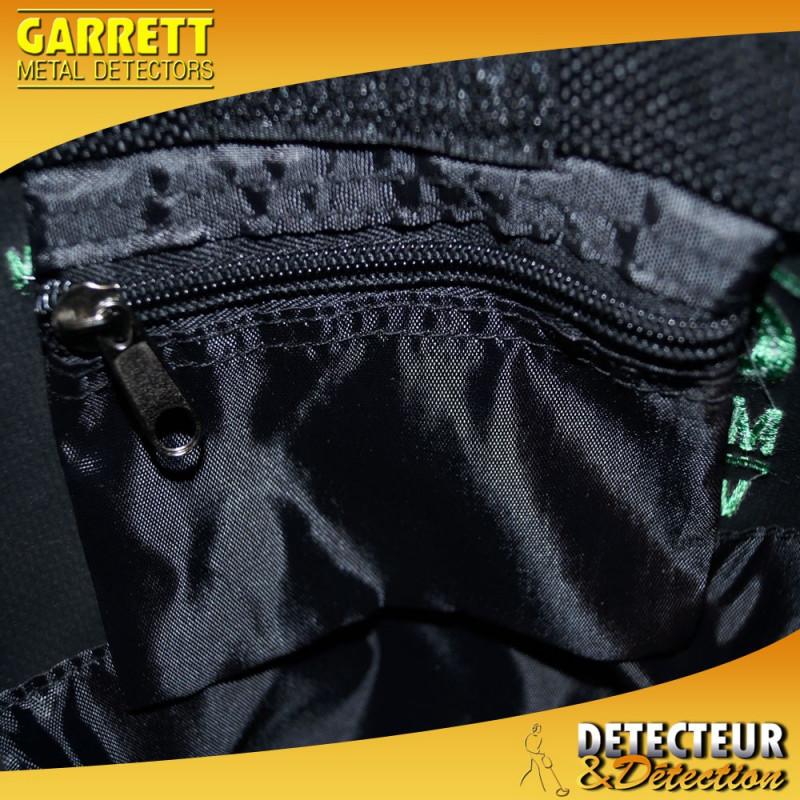 Poche zippée à trouvailles Garrett