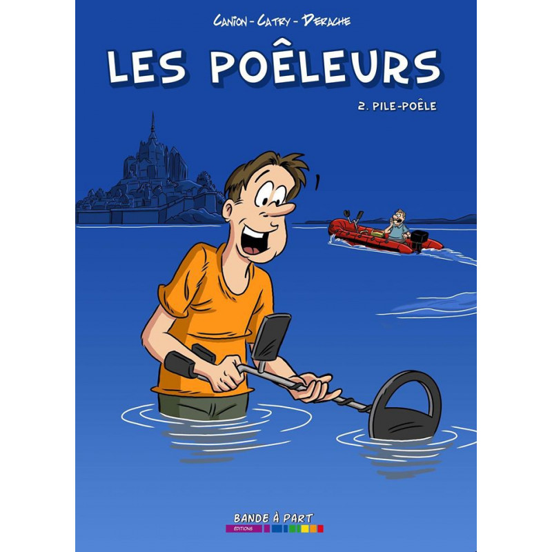 BD Les poêleurs tome 2 - Pile-Poêle