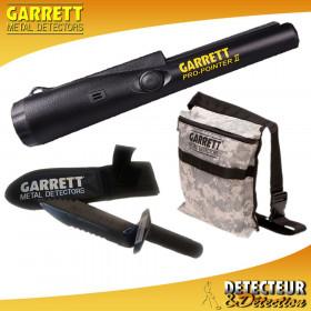 Propointer II Garrett + Edge Digger + Sacoche