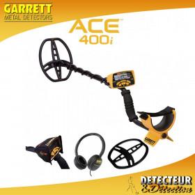 GARRETT ACE 400i + 3 ACCESSOIRES