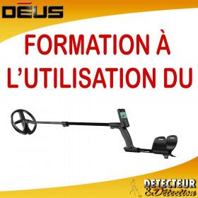 Formation détecteur de métaux XP DEUS
