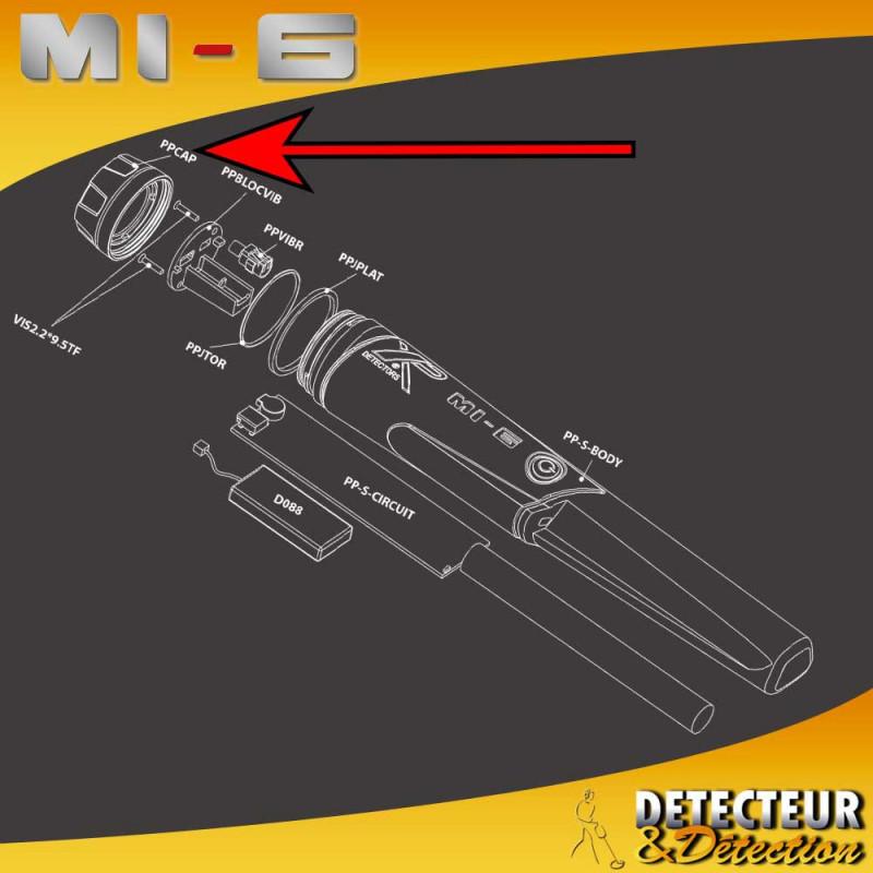 Capuchon du pinpointer XP MI-6