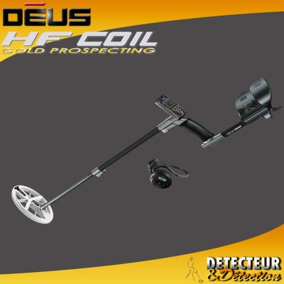 détecteur de métaux XP DEUS Elliptique  HF