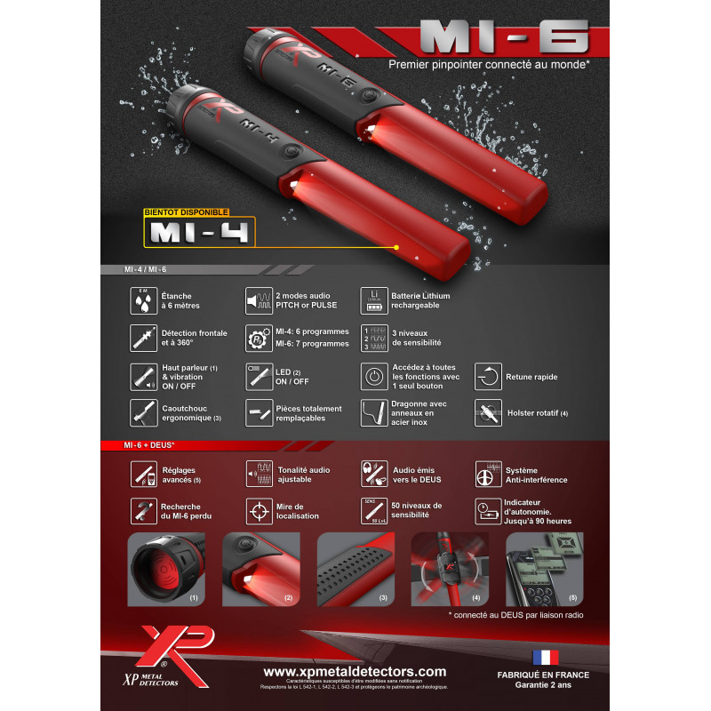 MI-4 Pinpointer XP