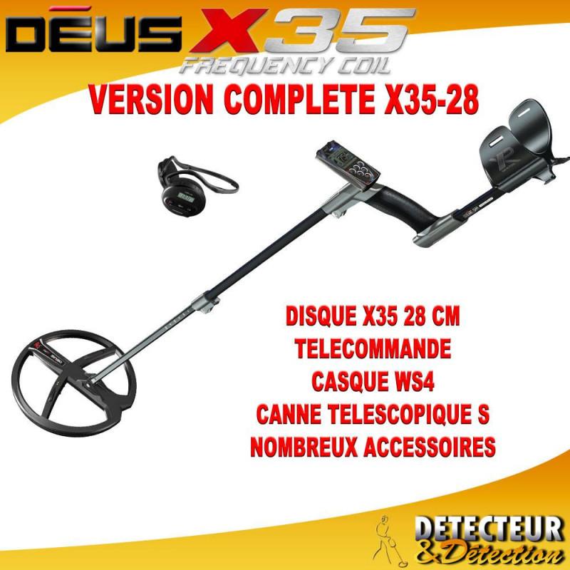 detecteur XP DEUS 28 X35