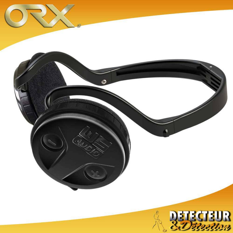 ORX - DISQUE 22 HF - TELECOMMANDE ET CASQUE