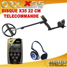 detecteur de metaux ORX avec disque X35 22cm