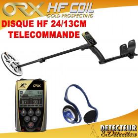 detecteur de metaux ORX avec disque elliptique HF 24/13