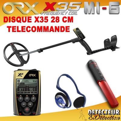 detecteur orx avec disque 28cm et mi6