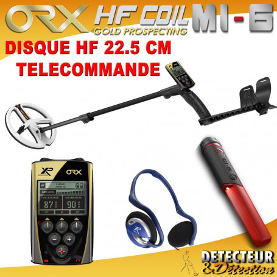 detecteur metaux orx 22HF et mi6