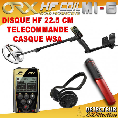detecteur orx 22HF full et MI-6