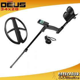 détecteur XP DEUS V3 Grand disque 34x28