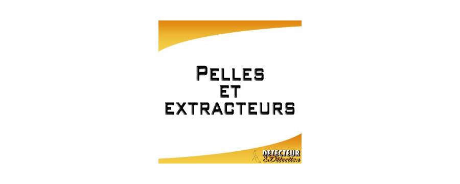 Pelles et extracteurs pour la détection