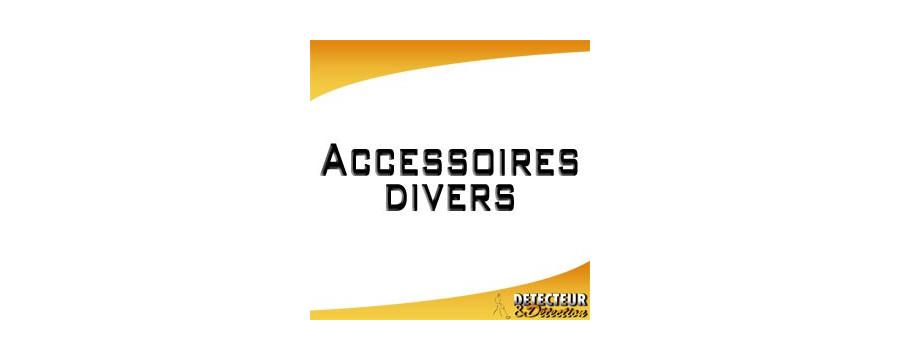 Accessoires pour la détection et les détecteurs de métaux