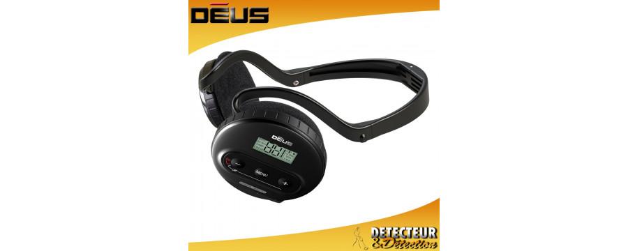 Casques XP DEUS - Casque sans fil pour detecteur de metaux