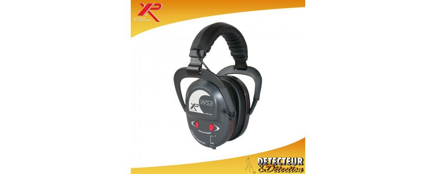 Casque détecteur XP WS3 - Casque sans fil pour detecteur de metaux