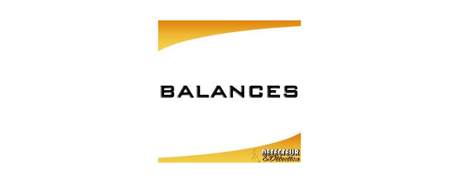 Balances de précision
