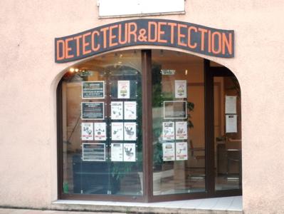 Notre magasin Détecteur & Détection à Nyons